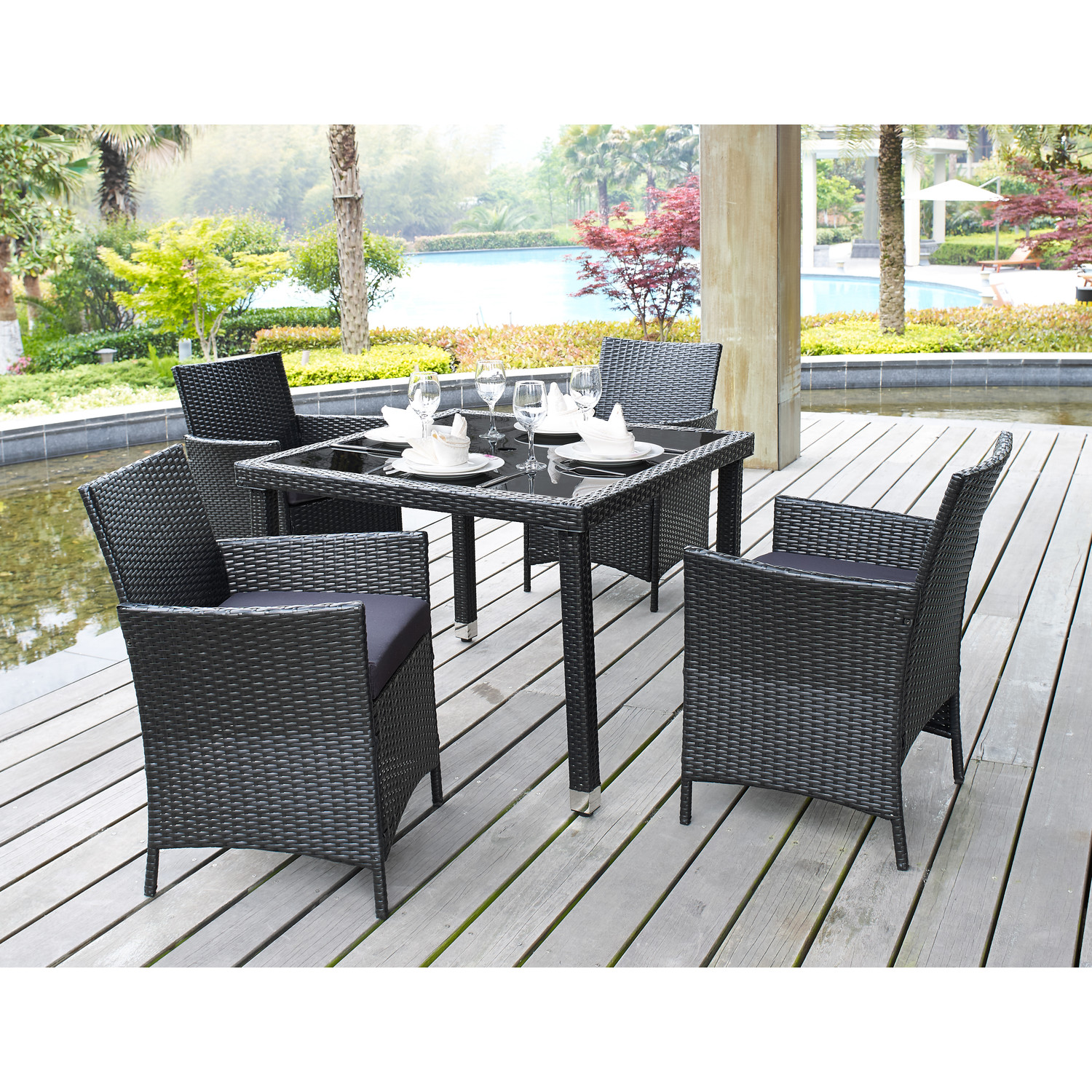 Places To Go For Affordable Modern Outdoor Furniture ... on Modern Backyard Patio id=13435