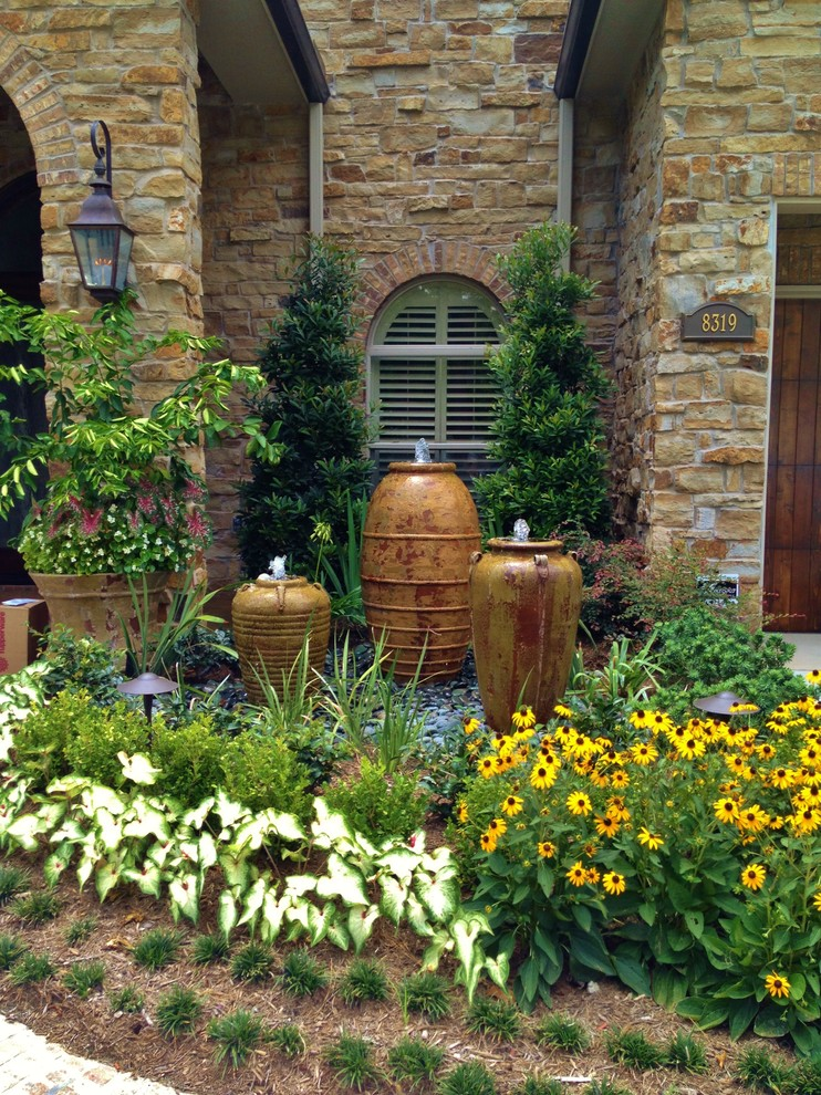 Front Yard Fountain Takes the Best Water Feature for ... on Water Feature Ideas For Patio id=48131