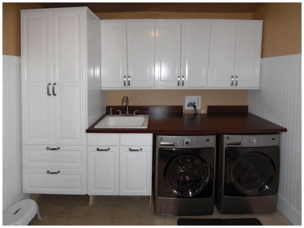 Laundry Room Cabinets IKEA - HomesFeed on Laundry Cabinets  id=49002