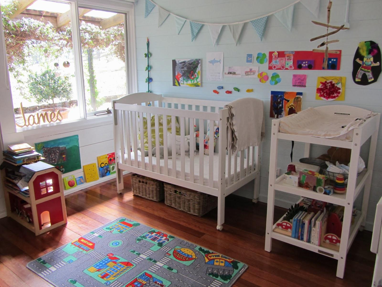 Baby Boy Nursery Decorating Ideas