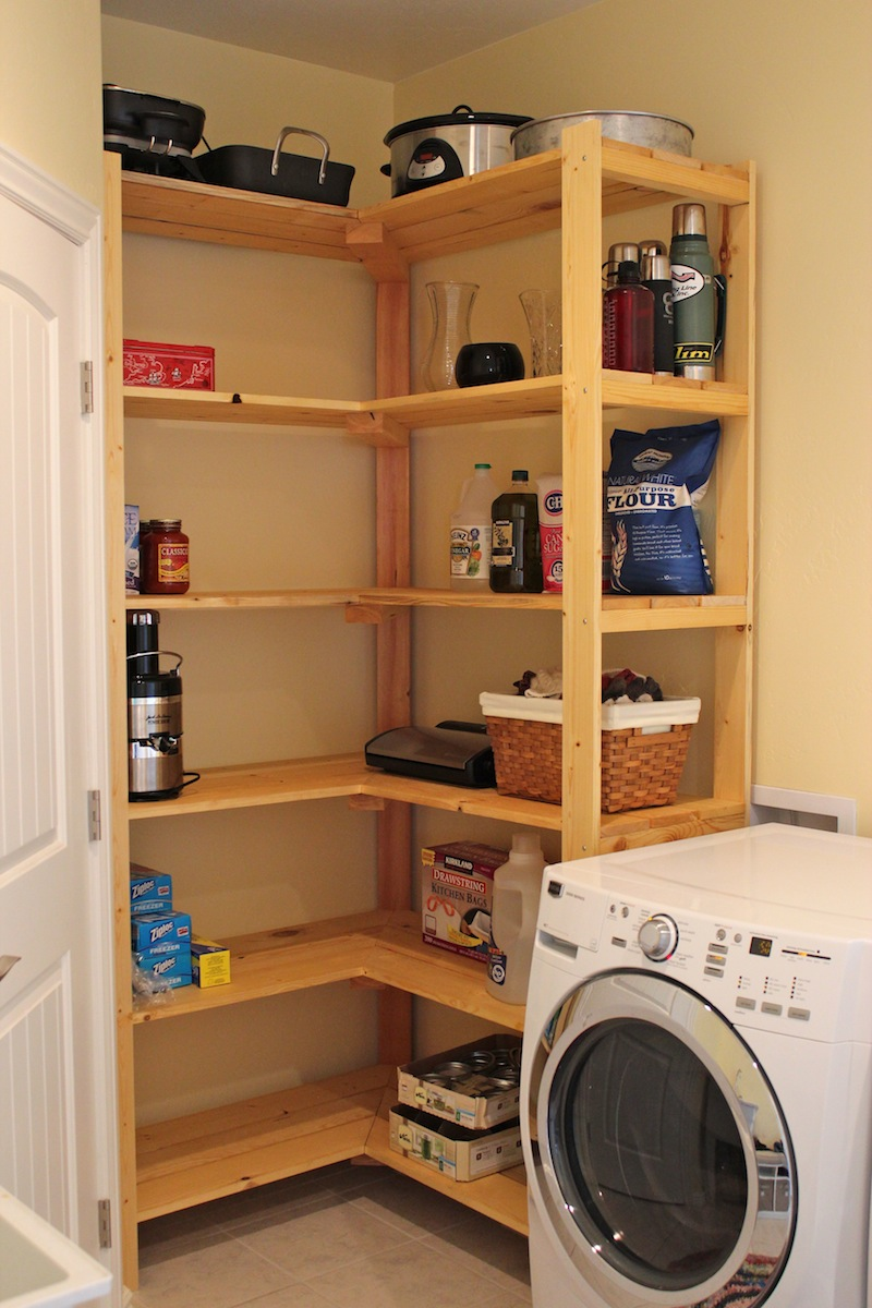 Shelving for Laundry Room Ideas - HomesFeed on Laundry Room Shelves Ideas  id=47816