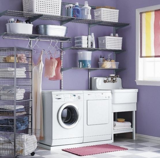 Shelving for Laundry Room Ideas - HomesFeed on Laundry Room Shelves Ideas  id=61474
