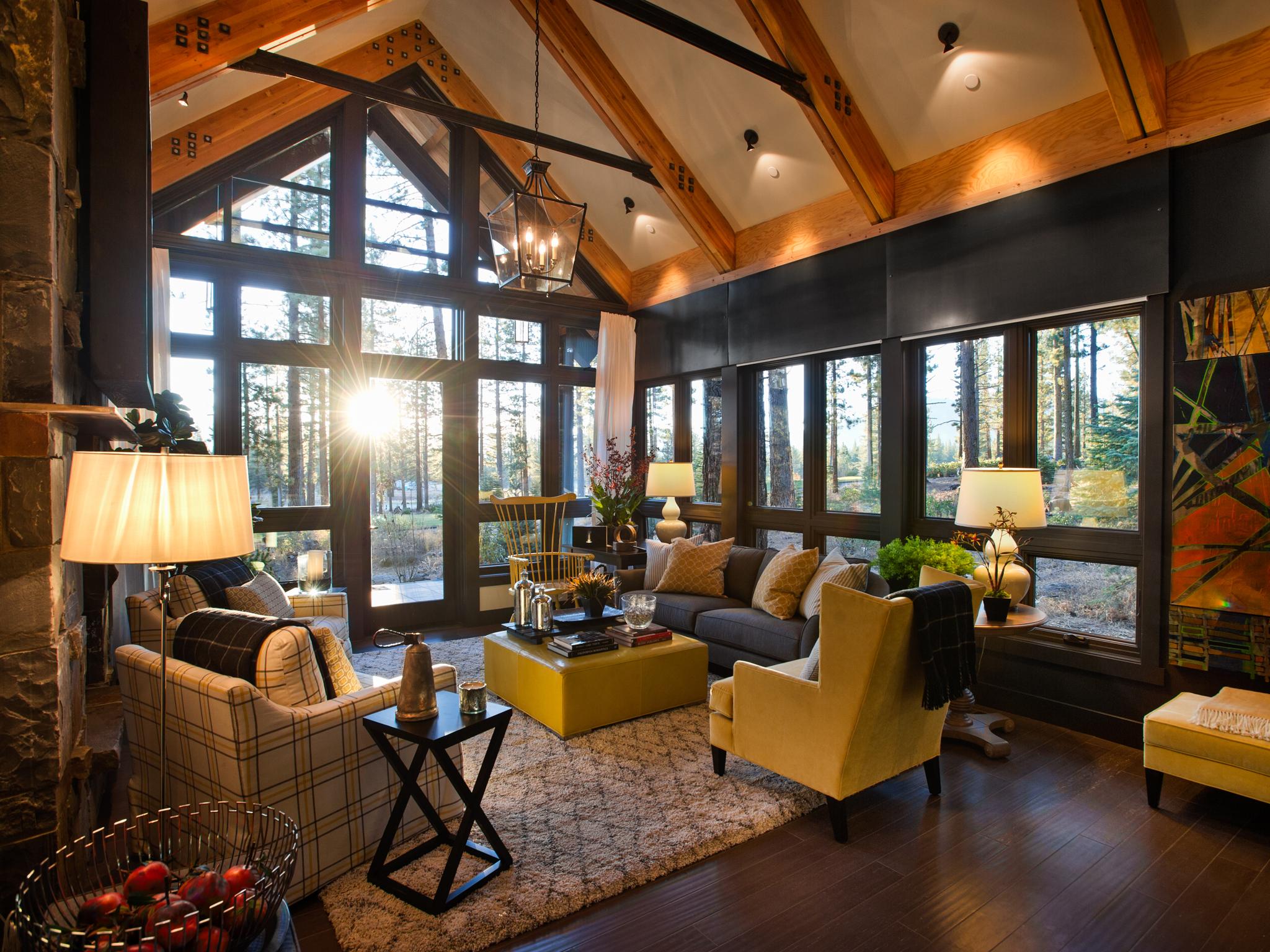 Rustic Living Room Ideas - HomesFeed on Living Room Style Ideas  id=11206