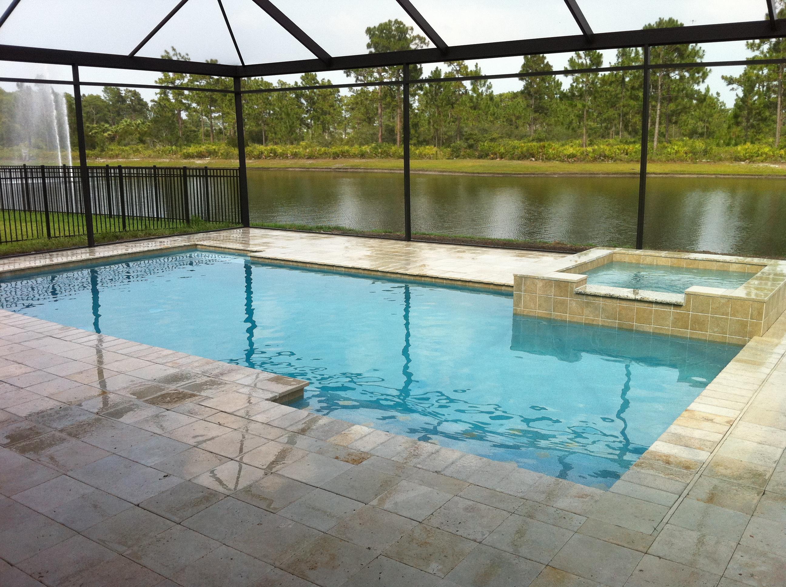 Rectangular Pool Designs - HomesFeed on Rectangular Backyard Design id=82118