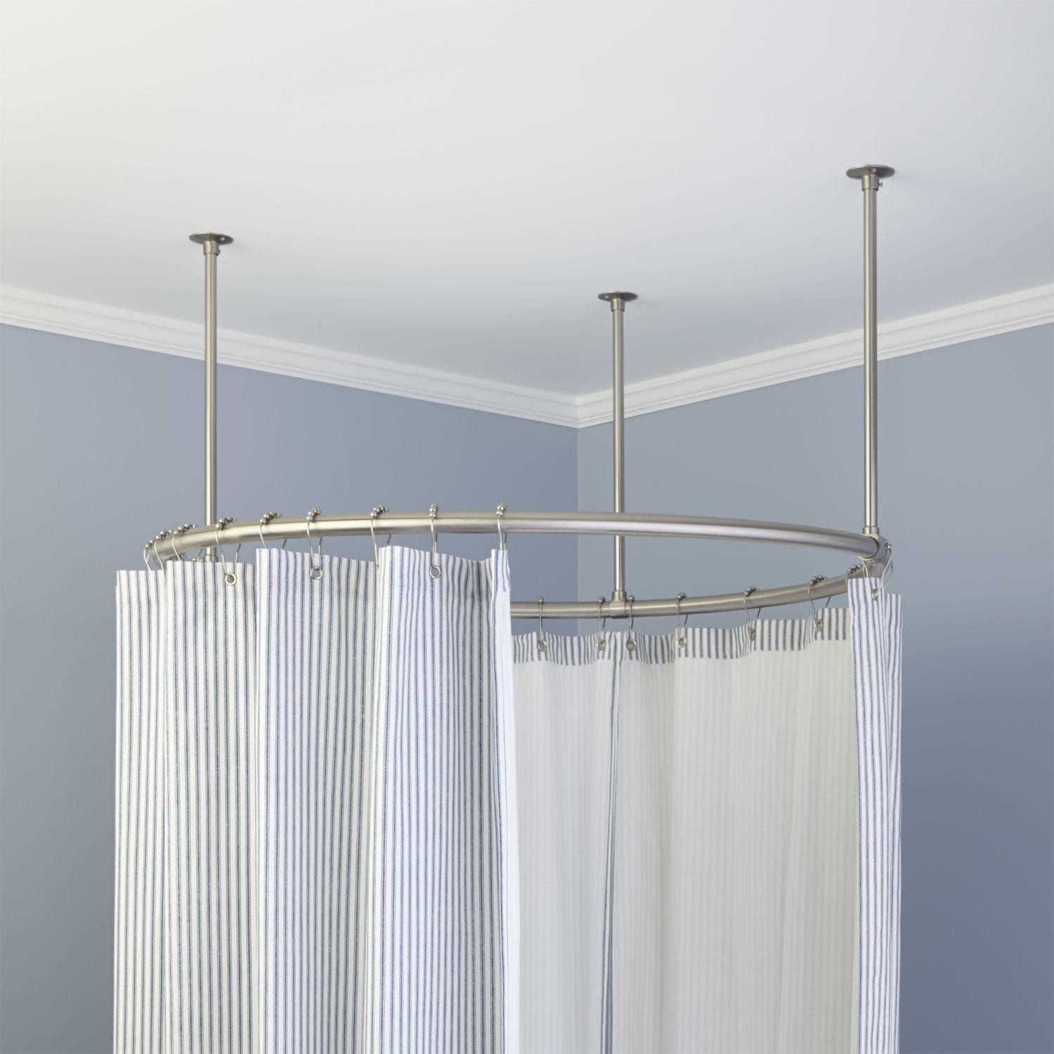 Round Shower Rod Signature Hardware For Any Shower Designs