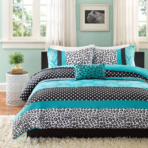 teal and black bedroom sets - bedroom style ideas