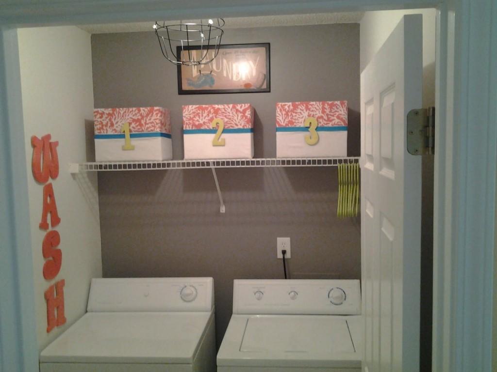 Shelving for Laundry Room Ideas - HomesFeed on Laundry Room Shelves Ideas  id=51212
