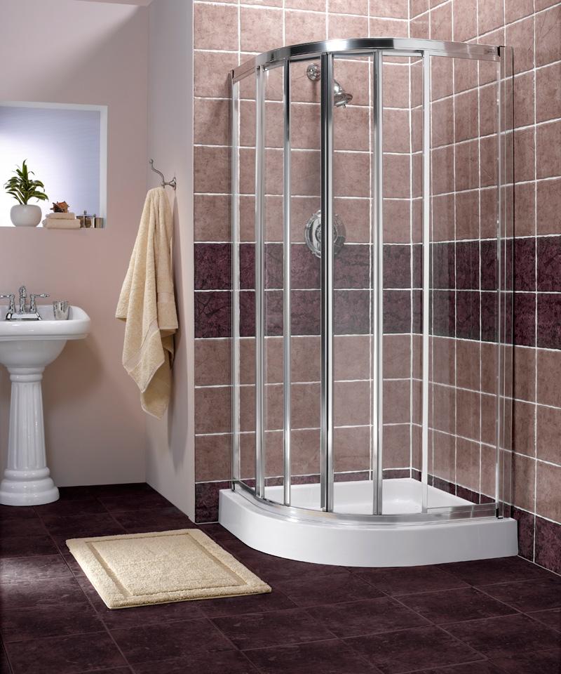 Corner Shower Units for Small Bathroom: Solving Space ... on Small Space Small Bathroom Ideas With Shower id=31809