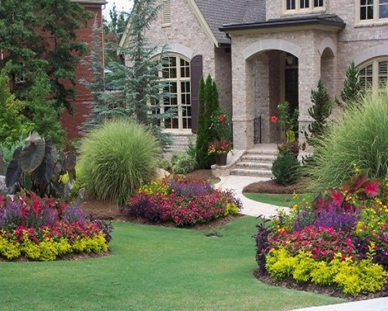 Front Yard Landscape Plans You Must See - HomesFeed on Backyard Landscaping Near Me id=49957