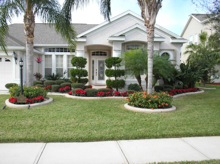 Front Yard Landscape Plans You Must See - HomesFeed on Backyard Landscaping Near Me id=93133