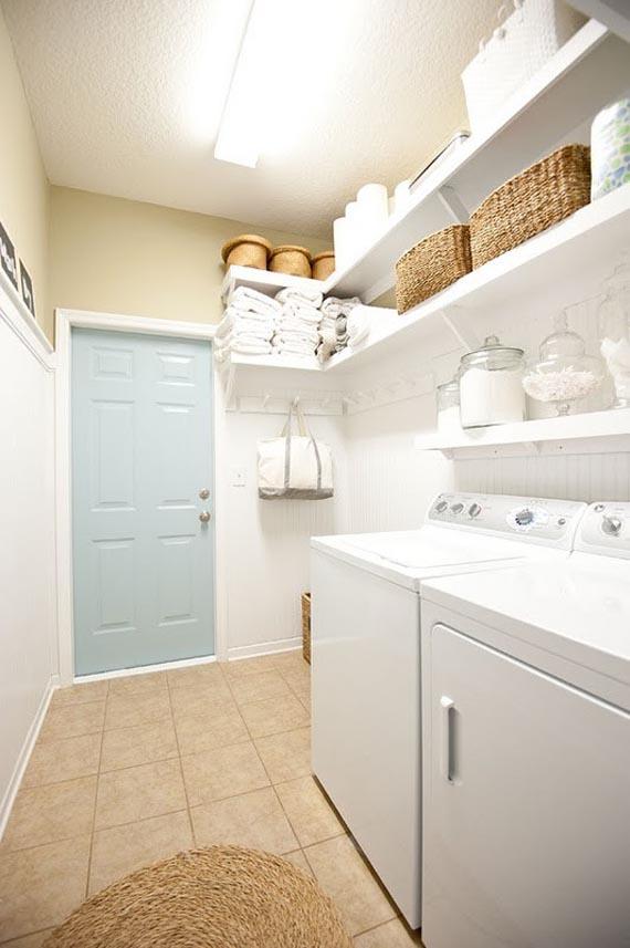 Shelving for Laundry Room Ideas - HomesFeed on Laundry Room Shelves Ideas  id=50220