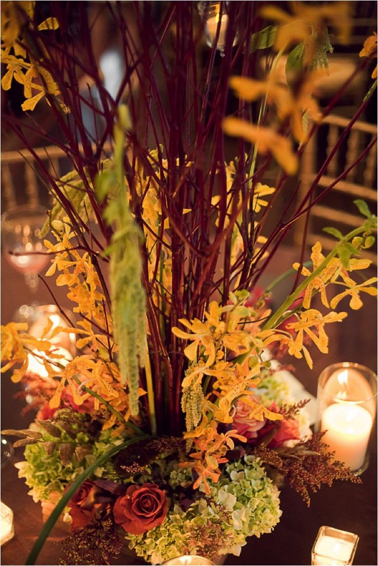 October Wedding Centerpieces