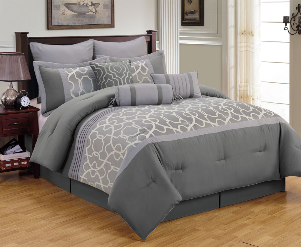 Grey King Size Bedding Ideas