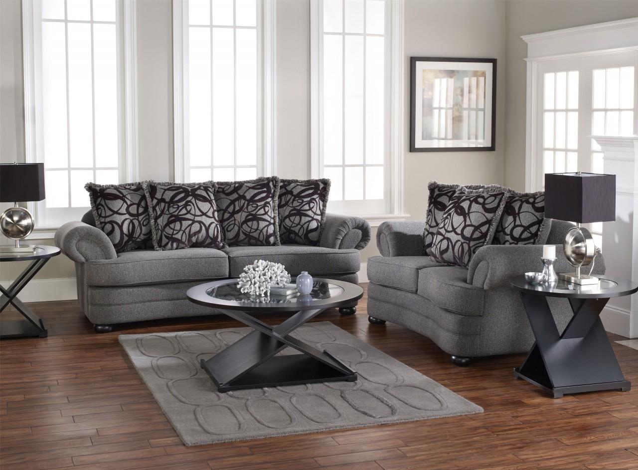 Living Room Design with Gray Sofa Displays Comfort and ... on Comfortable Living  id=40226