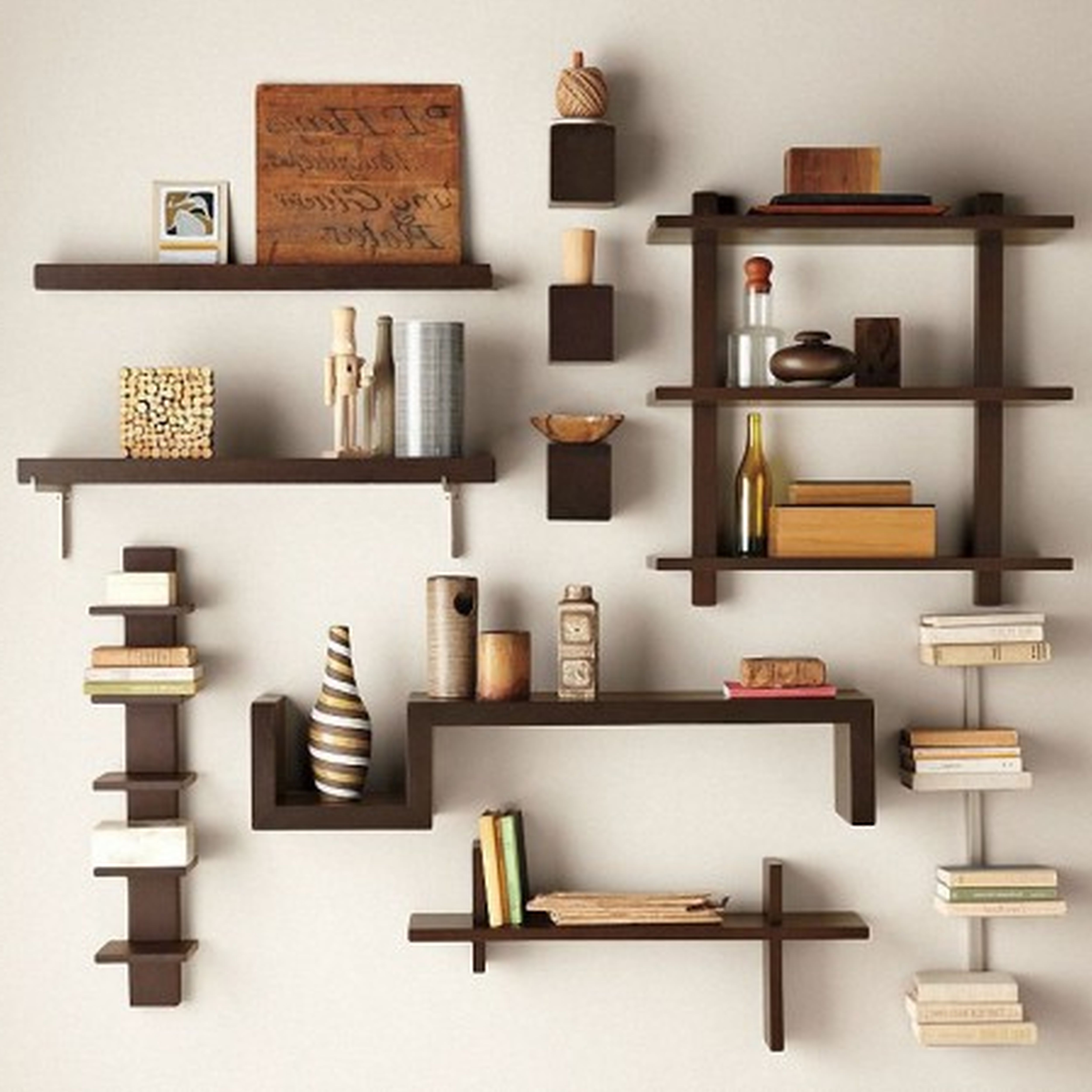 Decorate Rooms with Decorative Shelving Unit - HomesFeed on Shelf Sconces For Living Rooms Contemporary id=99849