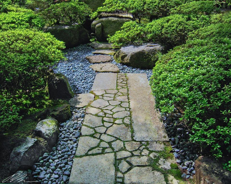 Small Japanese Garden for Green and Refreshing Exhibition ... on Backyard Japanese Garden Design Ideas id=32682