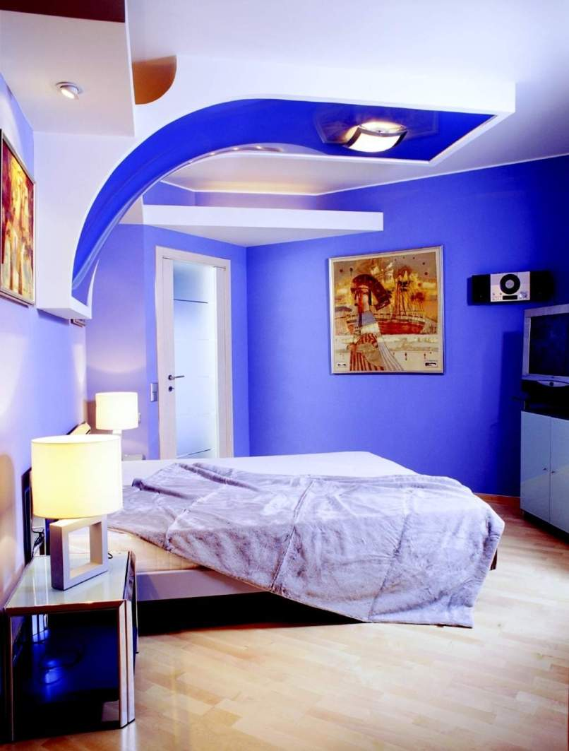 Ceiling colors for small rooms for Bright paint colors for small rooms