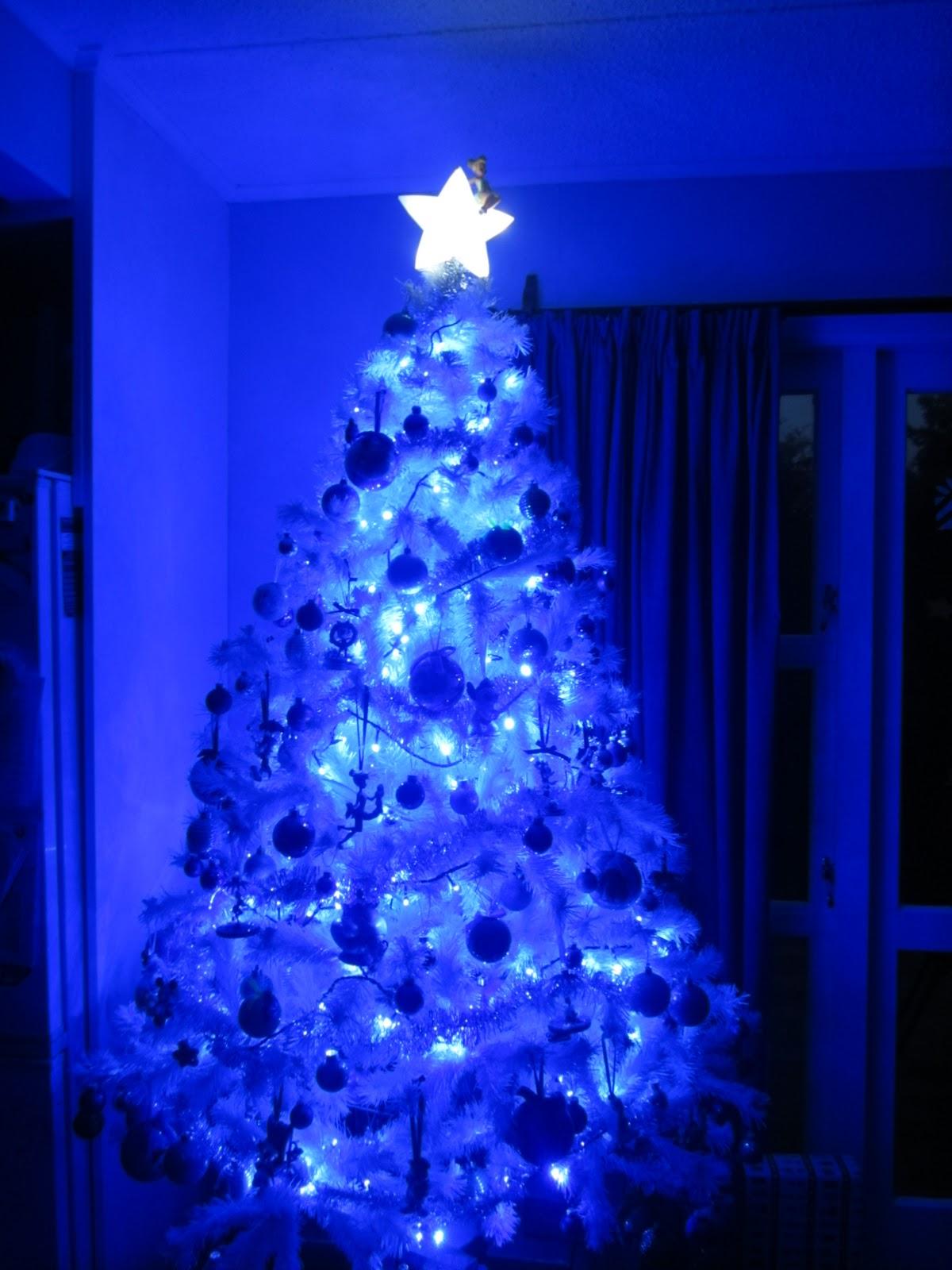 Blue Led Lights Room