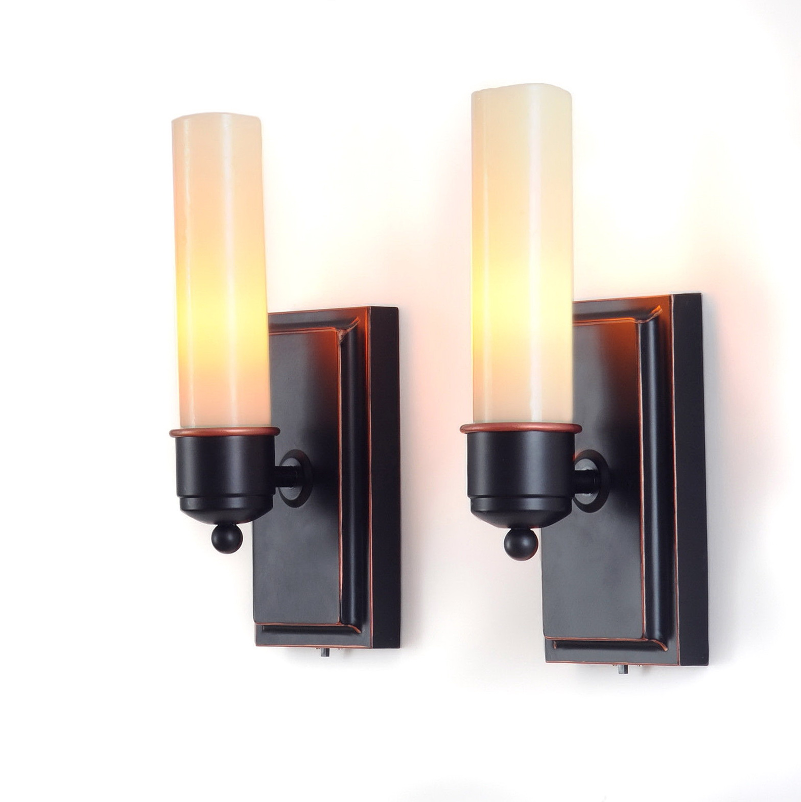 Battery Operated Sconce - HomesFeed on Battery Powered Wall Sconces id=84115