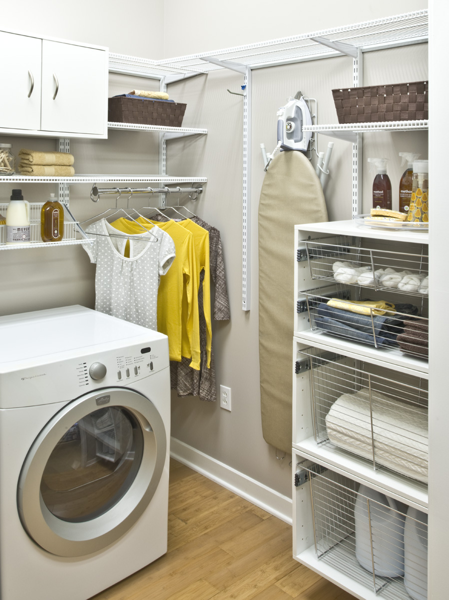 Laundry Room Shelving Ideas for Small Spaces You Need to ... on Laundry Room Organization Ideas  id=98126