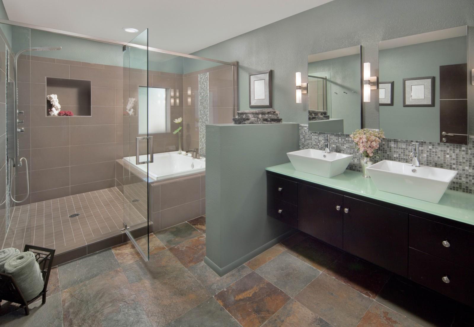 Elegant Shower Ideas for Master Bathroom - HomesFeed on Main Bathroom Ideas  id=57175