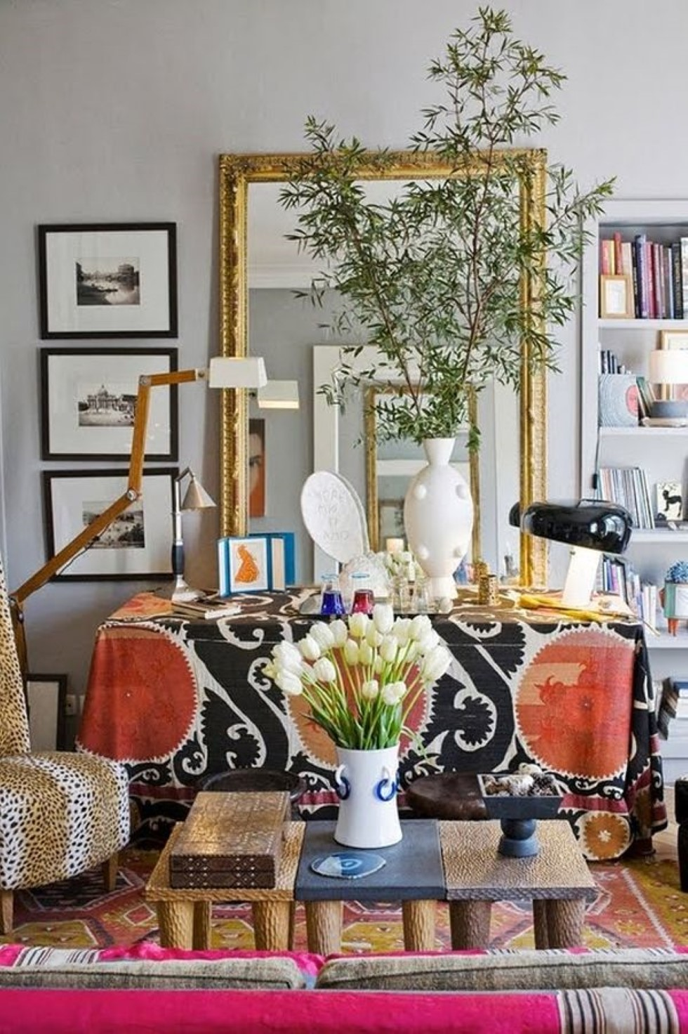 Bohemian Apartment Decor to Close the Artistic Year with ... on Apartment Decorating Styles  id=70630