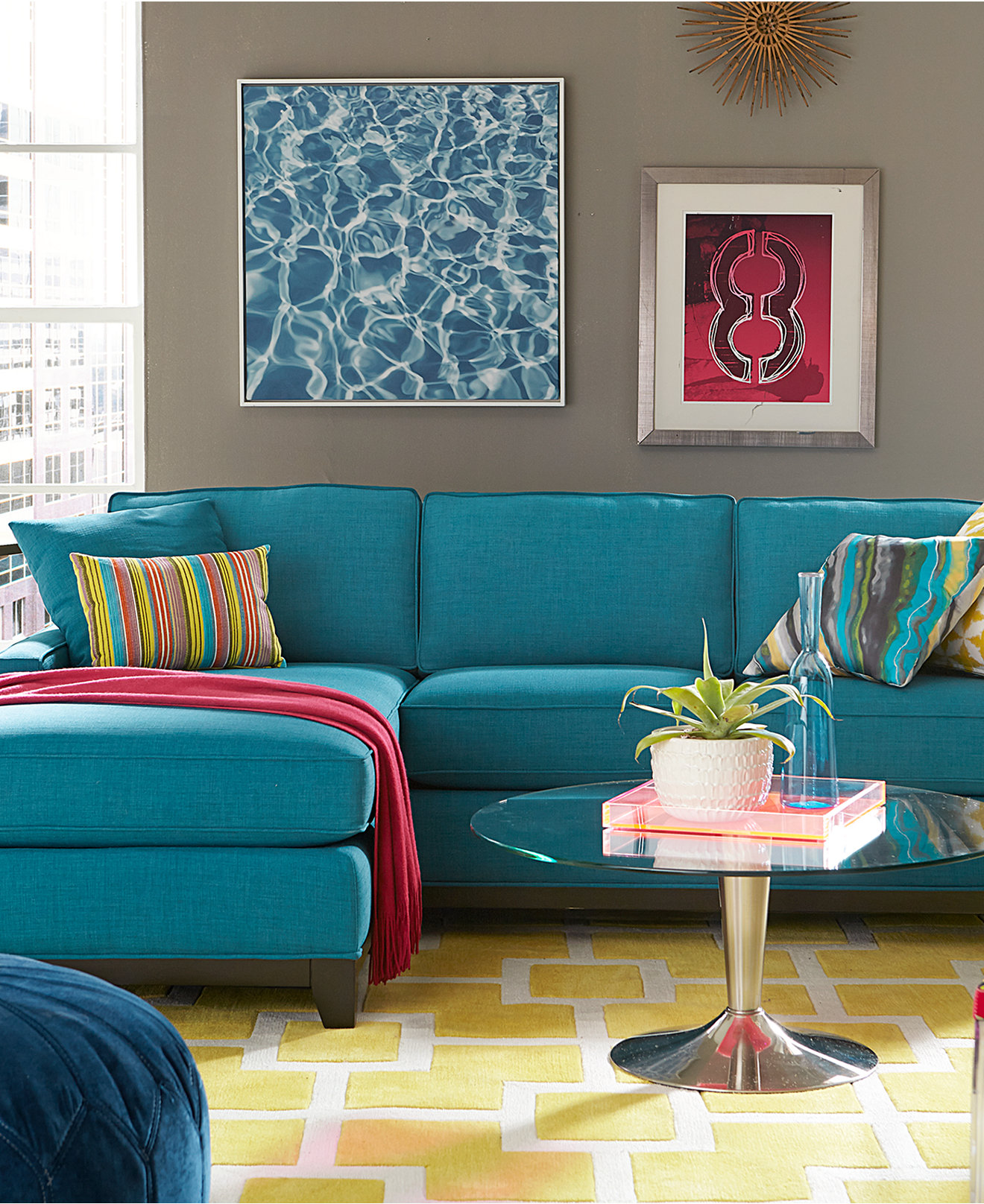 Feel The Grace Of Your Interior With Long Sectional Sofa