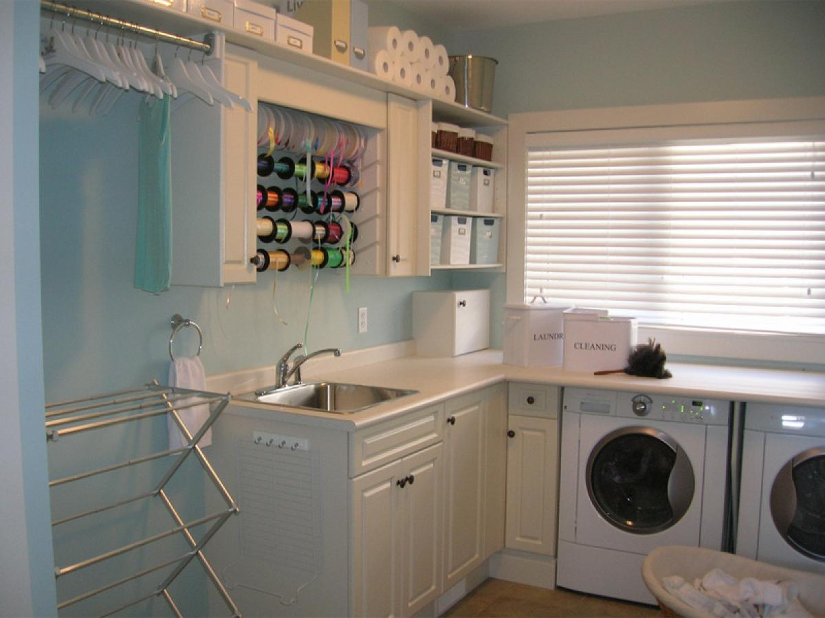 Simple and Best Laundry Room Shelf that You Must Apply ... on Laundry Room Shelves Ideas  id=53459