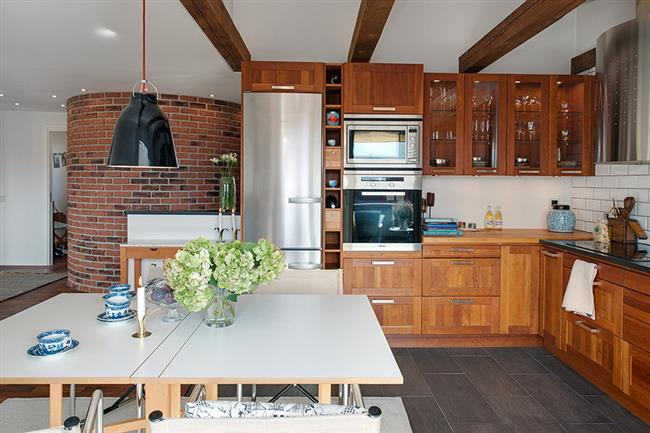 Apartment Design With Charming Scandinavian Touch In The