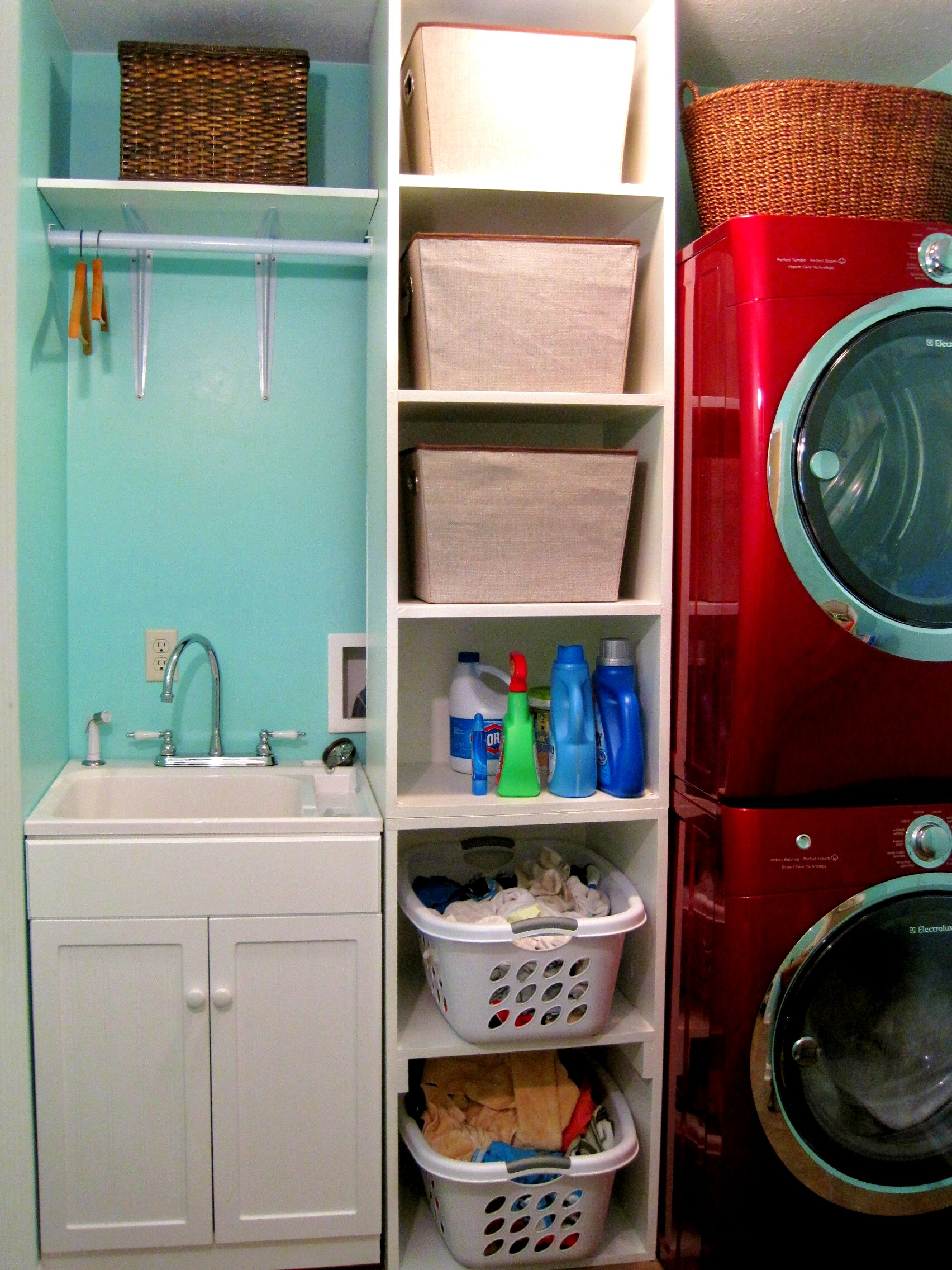 Laundry Room Shelving Ideas for Small Spaces You Need to ... on Laundry Room Organization Ideas  id=52135