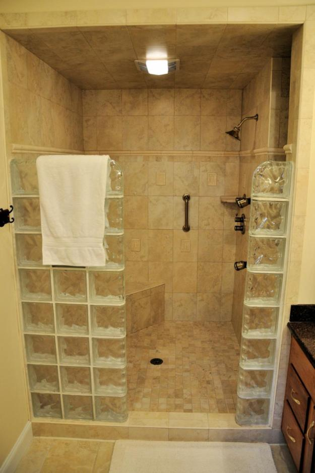 bathroom ideas for stand up shower remodeling with tile - shower and