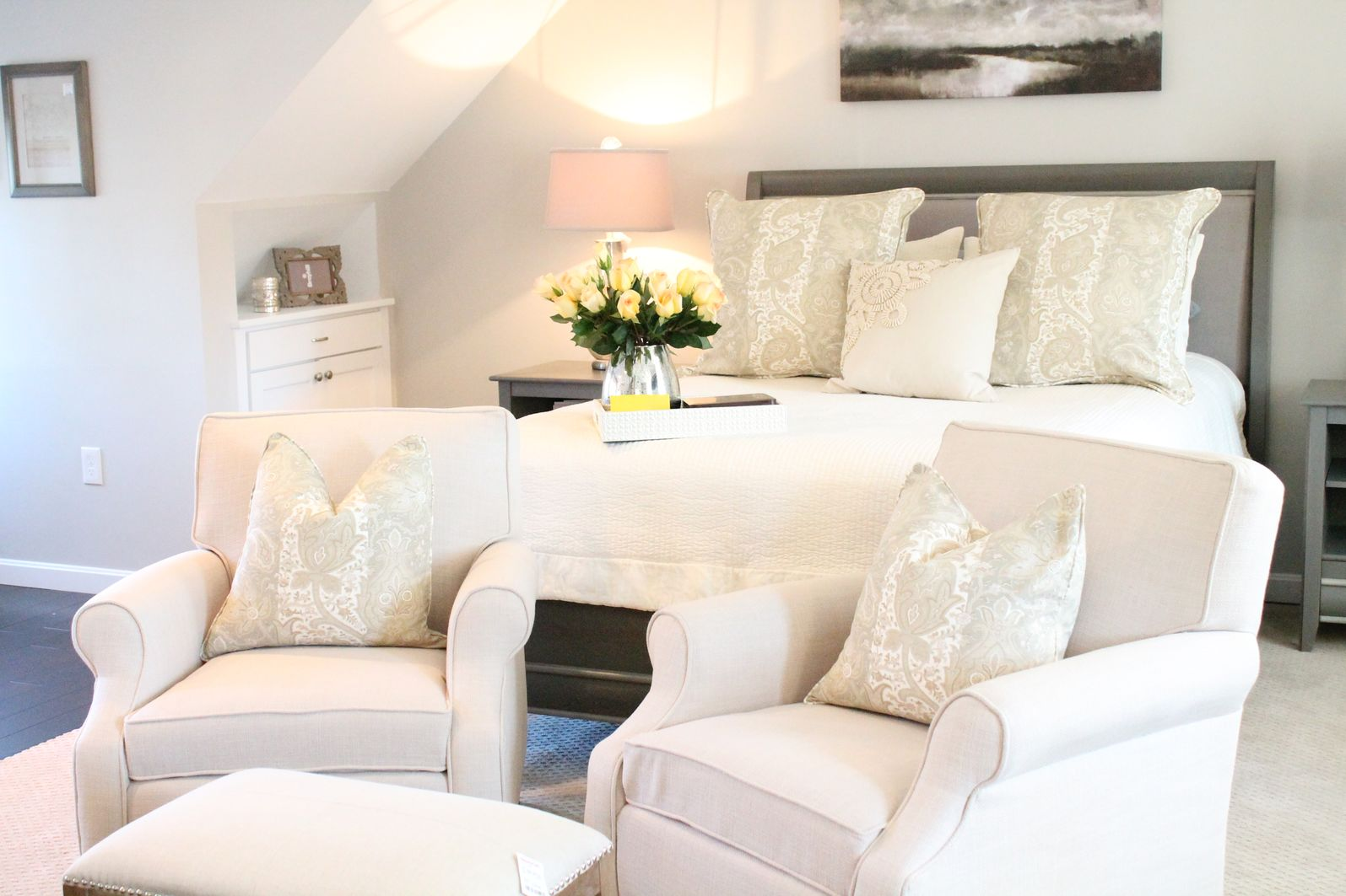 Comfortable Chairs for Bedroom Sitting Area - HomesFeed on Comfy Bedroom  id=28024