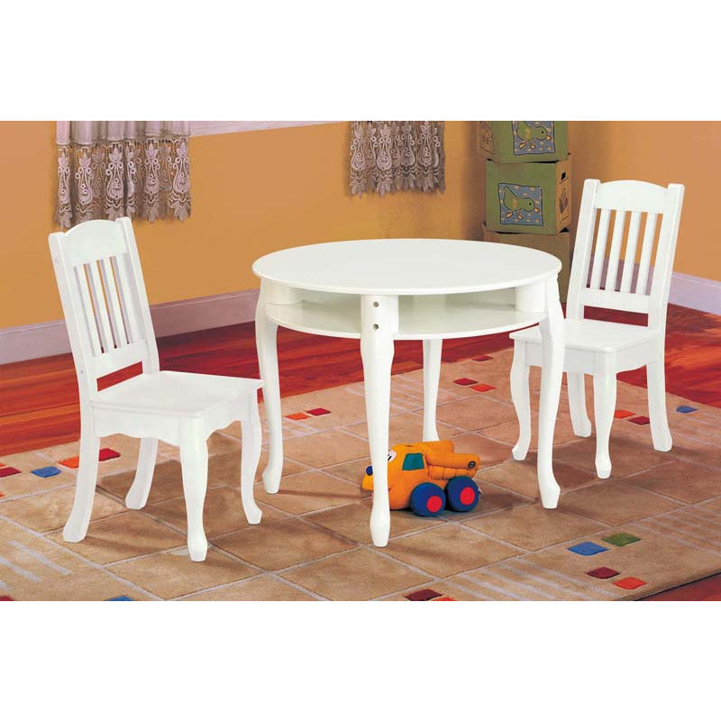 table and chair set for toddlers homesfeed Kids Round Table And Chairs id=97244