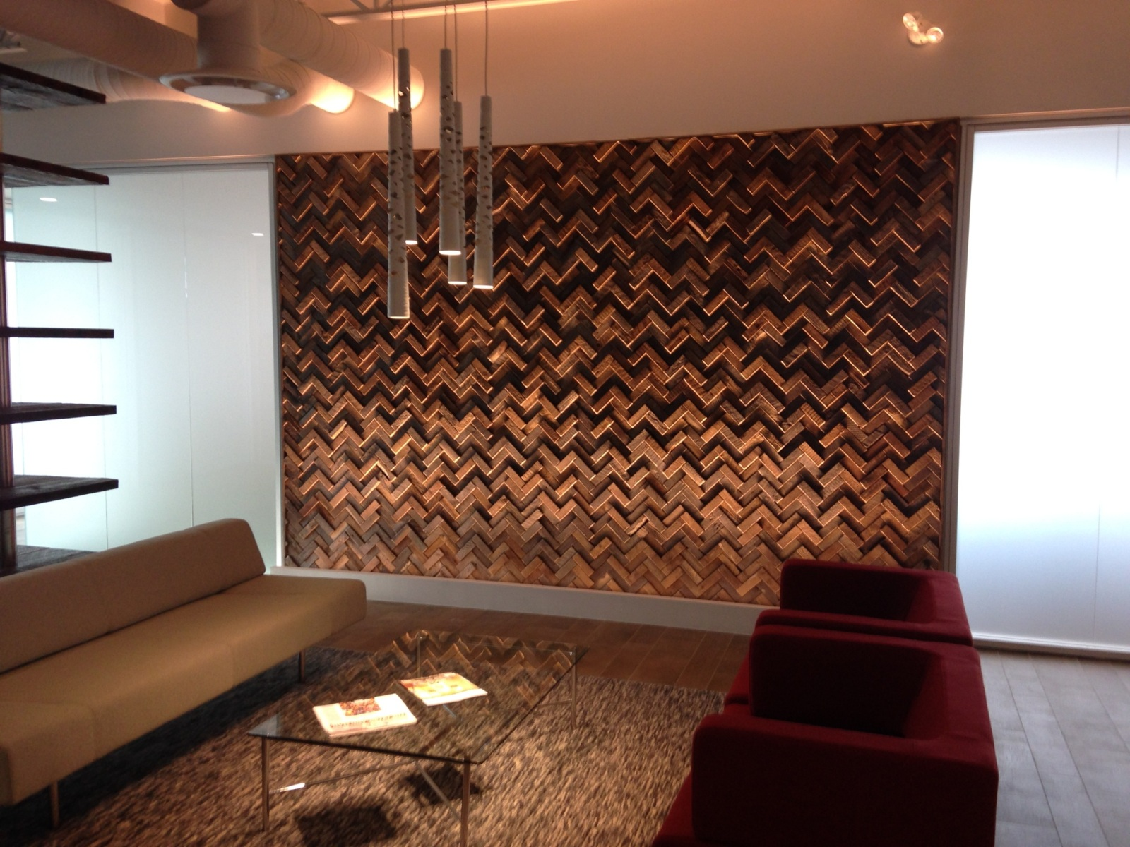 Unique Wood Wall Covering Ideas - HomesFeed on Creative Wall Design Ideas  id=35598