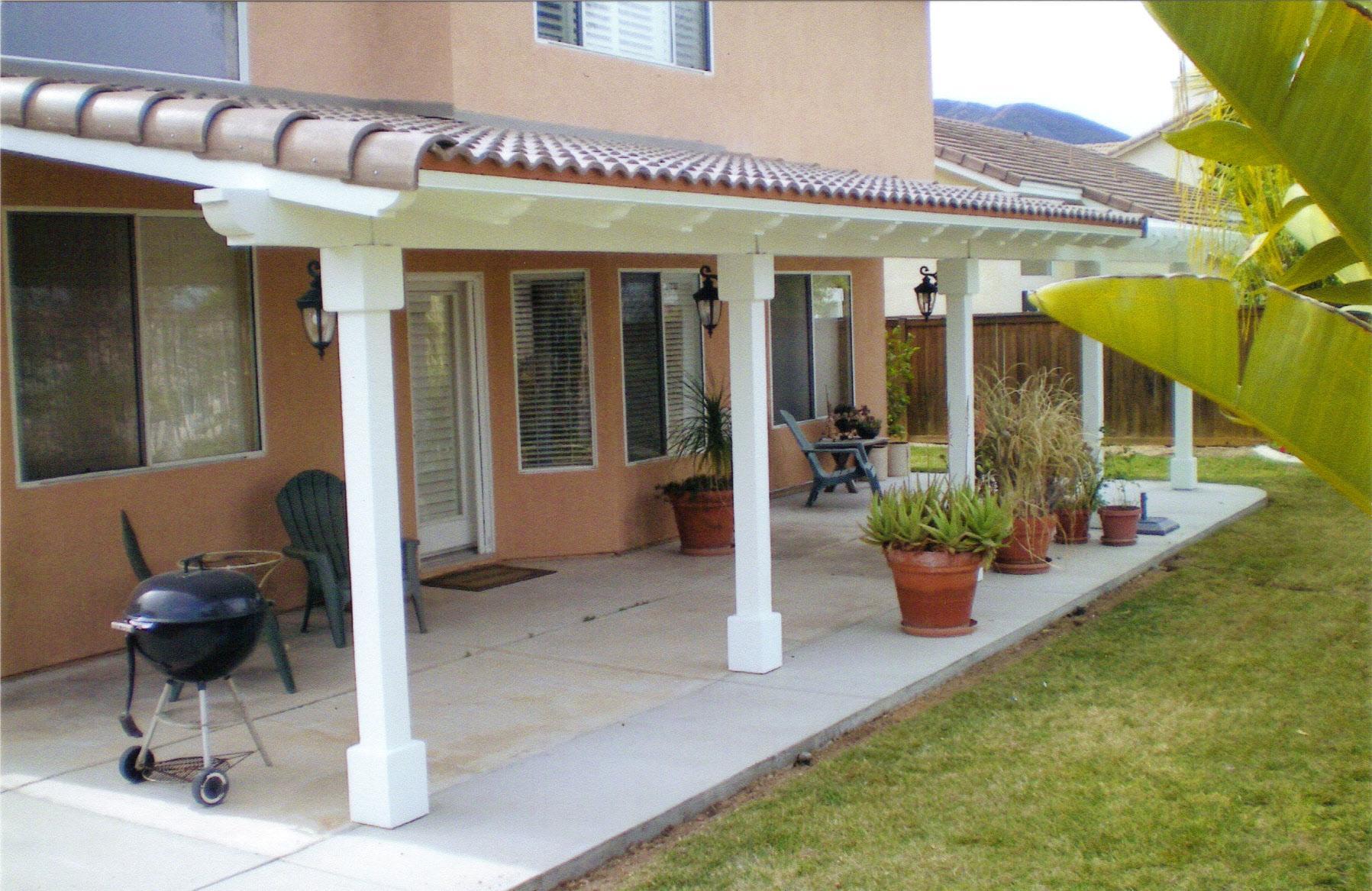 Natural Wooden Patio Covers - HomesFeed on Backyard Wood Patio Ideas id=42652
