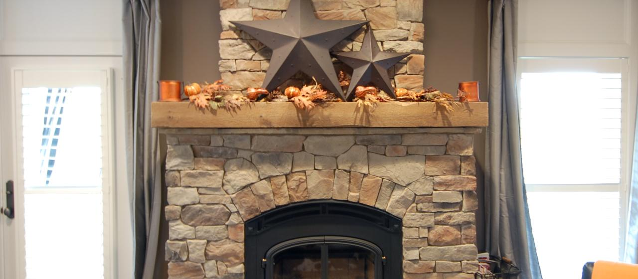 reclaimed wood mantels for a rustic or antique fireplace look homesfeed