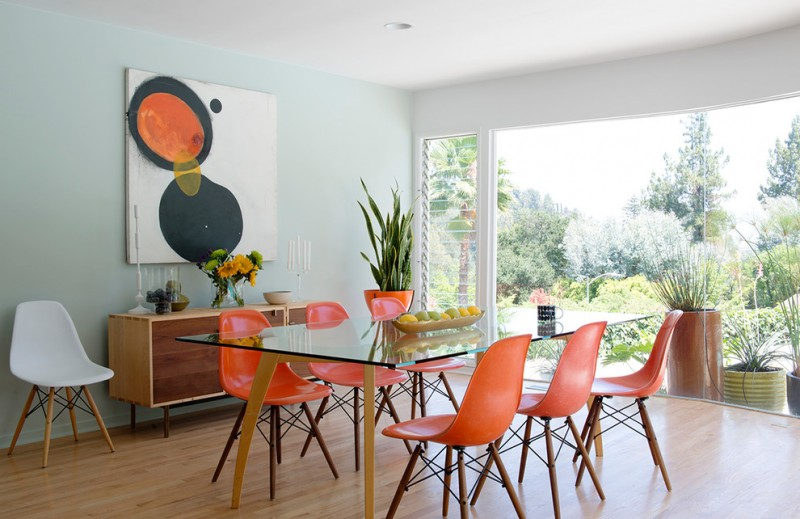 Scintillating Orange Dining Room Chairs Photos - Best inspiration ...