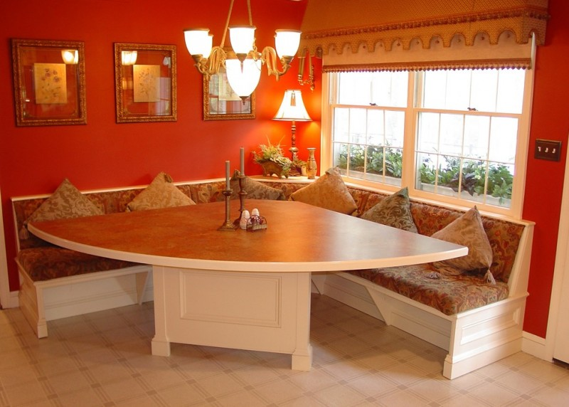 Triangle Dining Table A Set Of Convenience Within Unusual