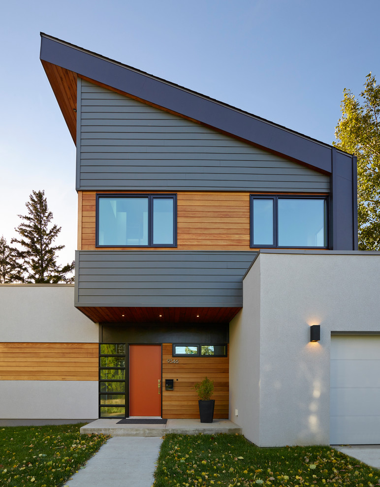 10 Inspiring Ideas of Contemporary Exterior House for ... on Modern House Siding  id=29859