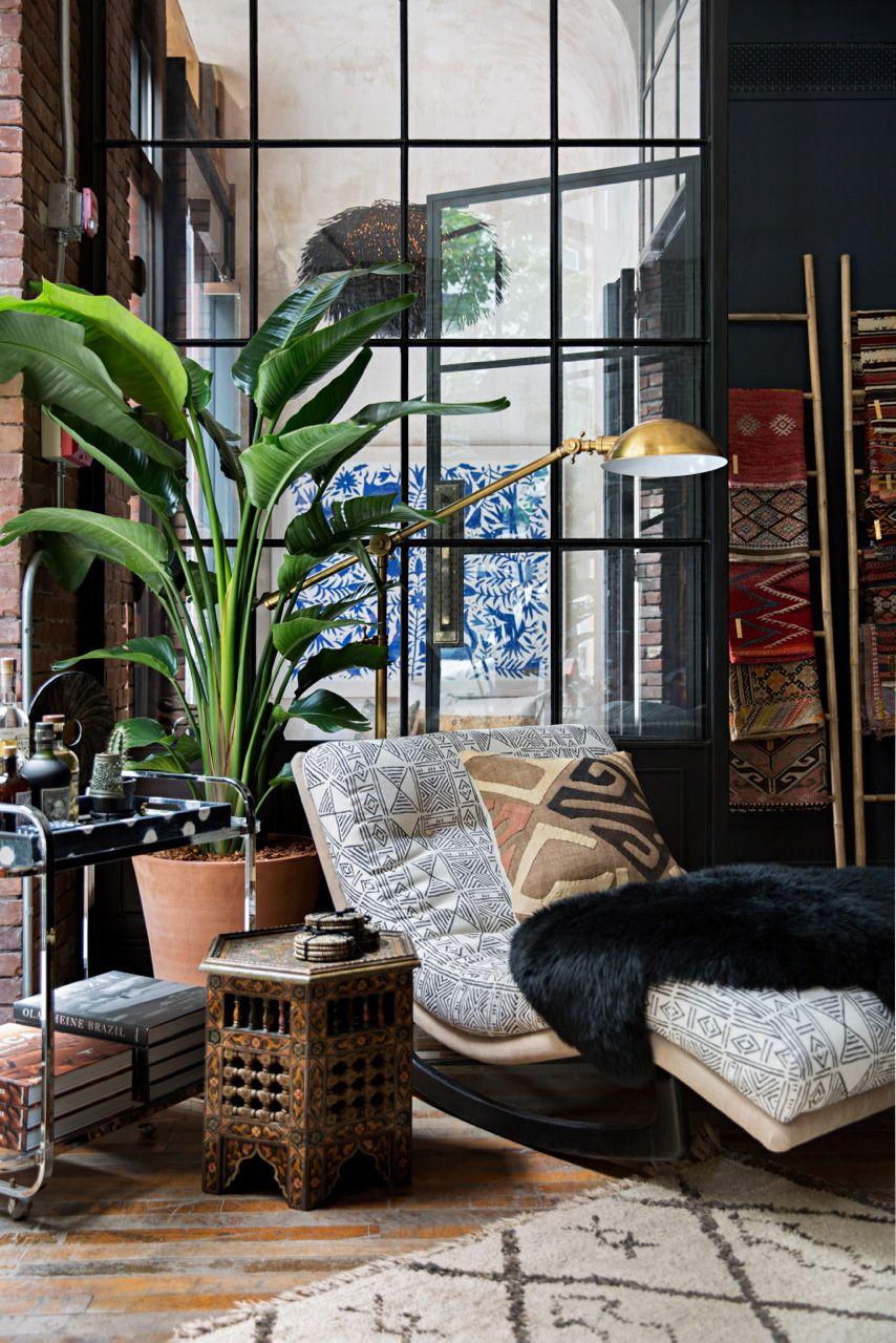 Modern Bohemian Ideas; An Instant Way to Get Clean Look ... on Boho Modern Decor  id=86661