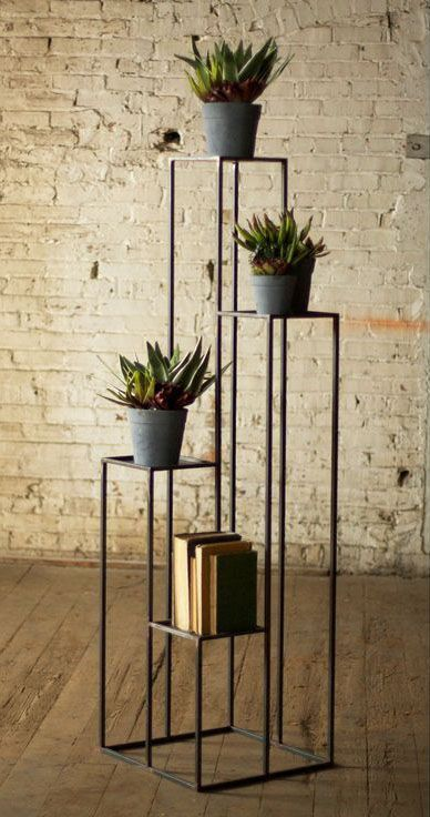 Inspiring Indoor Plant Stand Ideas for Wanna-Be Interior ... on Iron Stand Ideas  id=40929