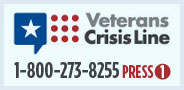 Veteran Crisis Line Badge 1-800-273-8255