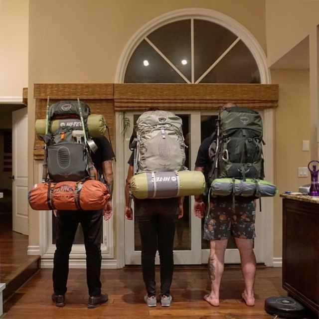 Packed and stacked for a few days in the Sanhellip
