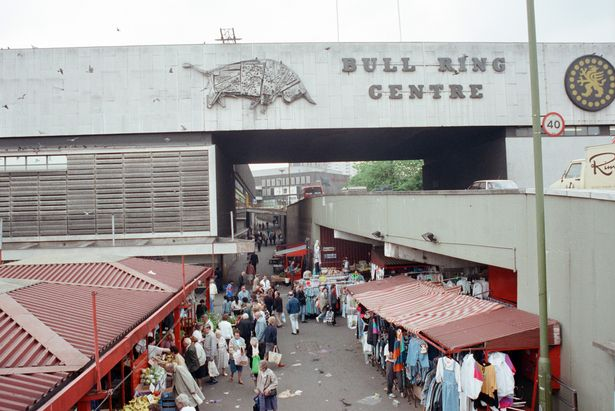 The Bull Ring Centre in the 1990's