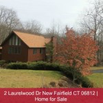 Colonial Two-Story Home for Sale | 2 Laurelwood Dr New Fairfield CT 06812