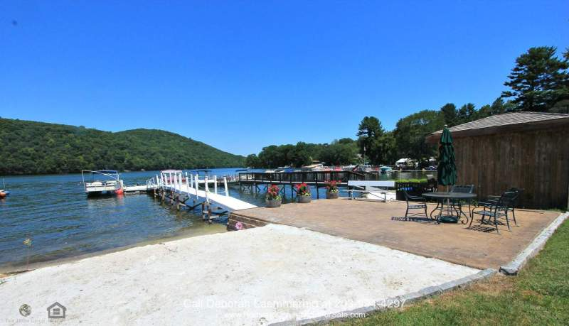 Upscale New Construction Waterfront Home on Candlewood Lake for Sale