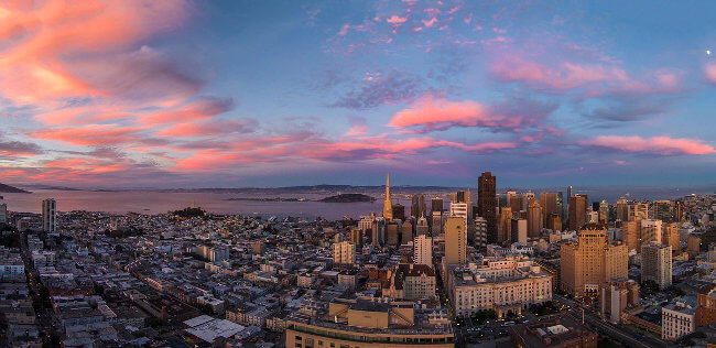 San Francisco is different than the open houses in Sanpete County