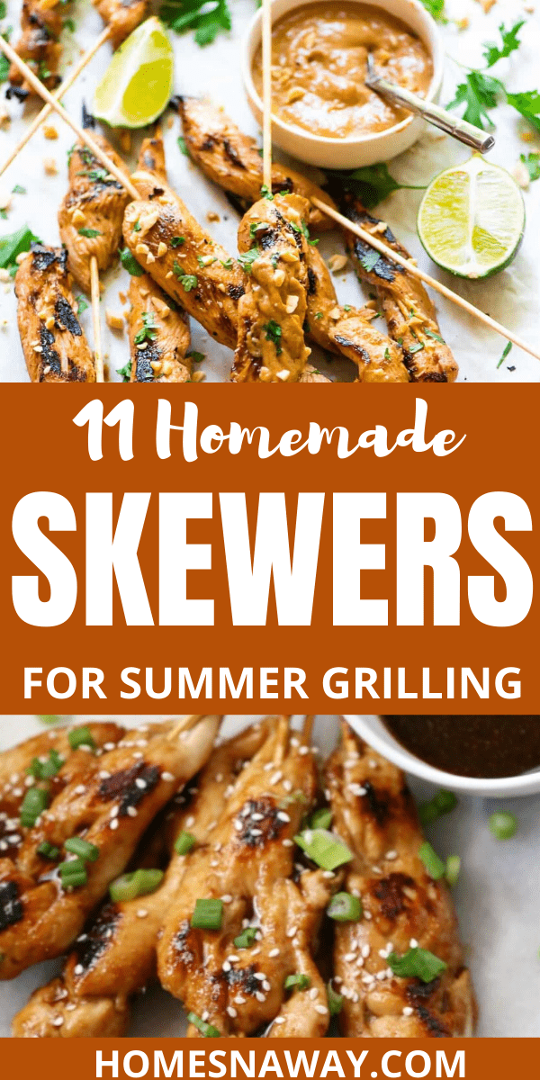 11 Amazing Homemade Skewers Recipes For Summer Grilling