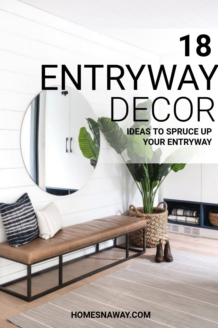 18 Entryway Décor Ideas To Set The Tone For Your Home