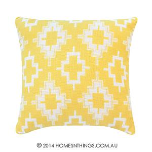 Rapee Nation Mustard Cushion